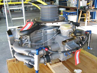 Talon Rotorway kit helicopter engine