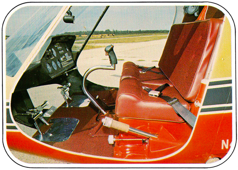 Three seat Enstrom helicopter
