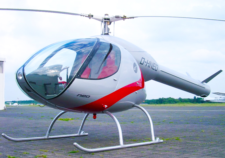Youngcopter NEO NOTAR rotary engine helicopter