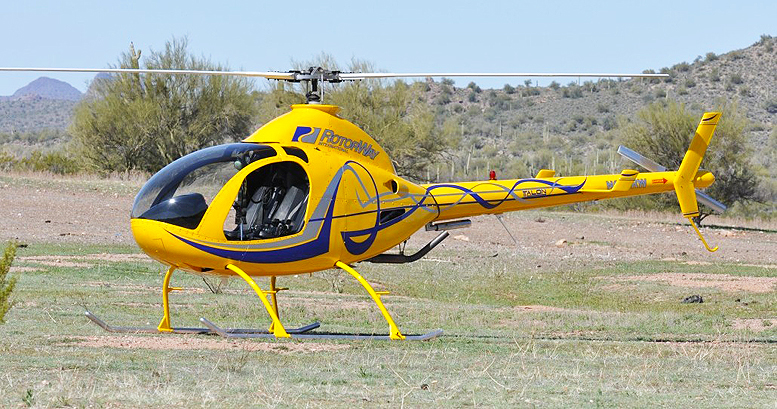 four stroke helicopter engines