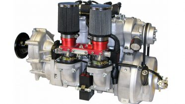 Hirth 3502 two stroke aircraft engine