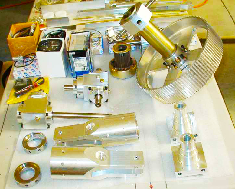 Homebuilt helicopter parts