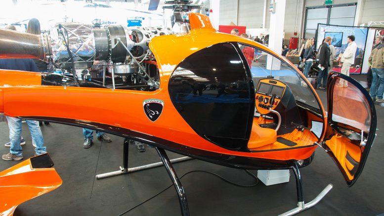 Konner diesel turbine helicopter video
