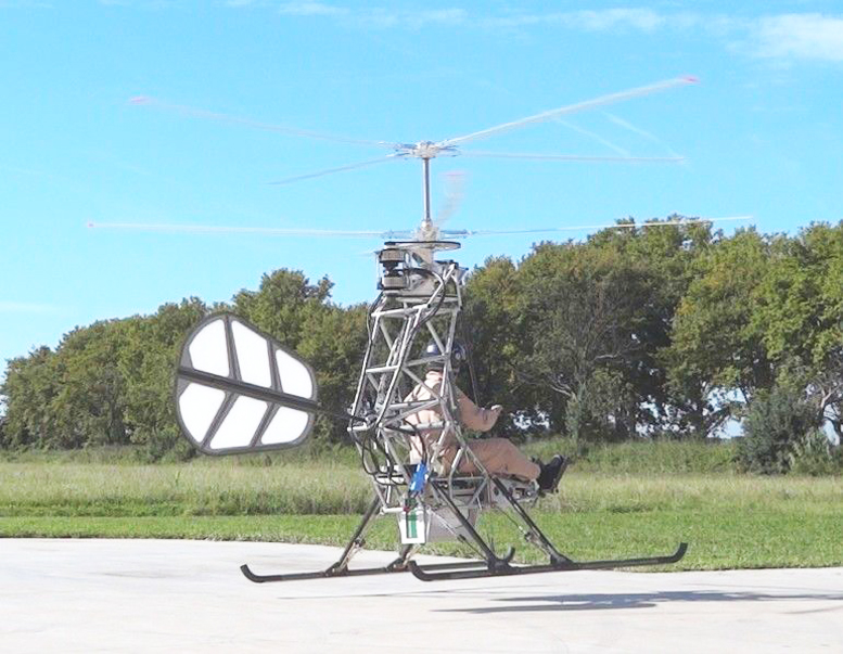 Personal electric helicopter - Electric Helicopter Engines