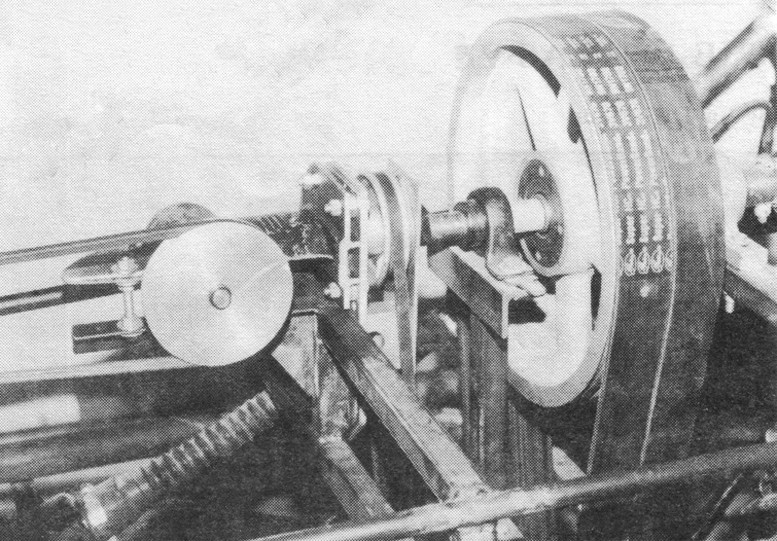 Rotary helicopter belt drive pulley