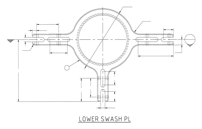 Helicopter Plans :: Helicopter Swashplate Plans - Redback Aviation