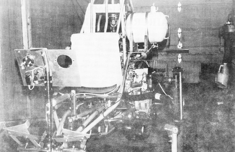 Adams Wilson experimental helicopter car engine