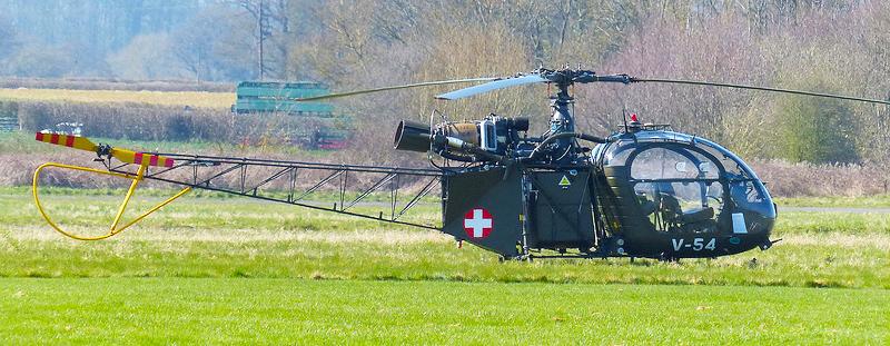 Aerospatalie turbine helicopter
