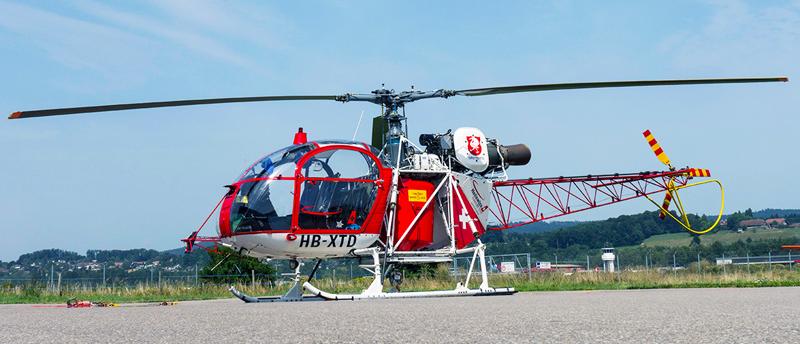 Aerospatiale Lama helicopter