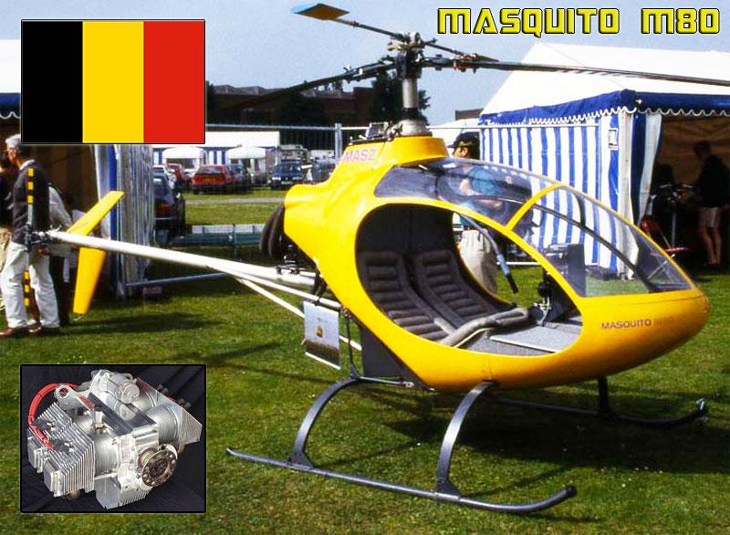 Belgium Masquito M80 kit helicopter