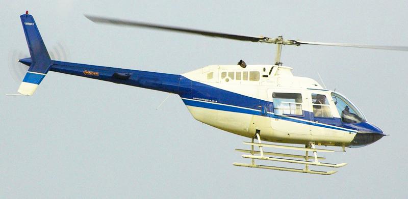 Bell JetRanger 2 helicopter