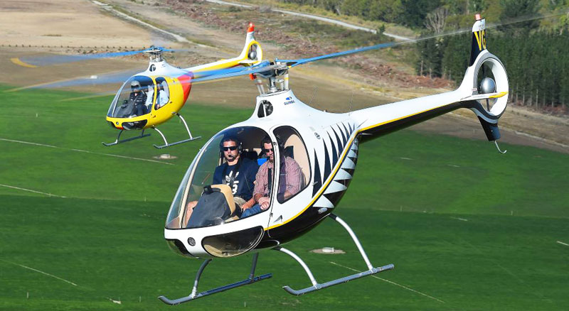 Cabri helicopter vibrations