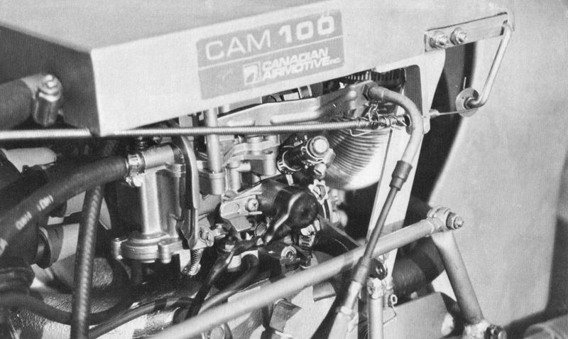 Cam 100 aircraft engine option
