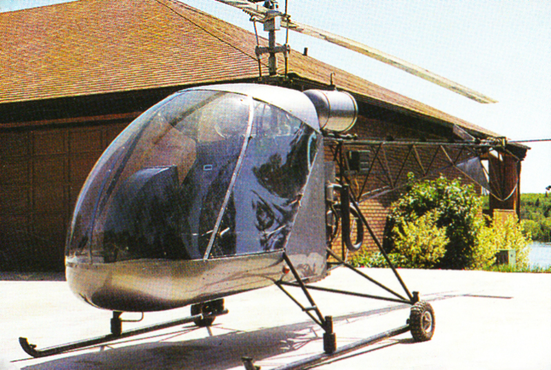 CanadianHome Rotors Excel Helicopter