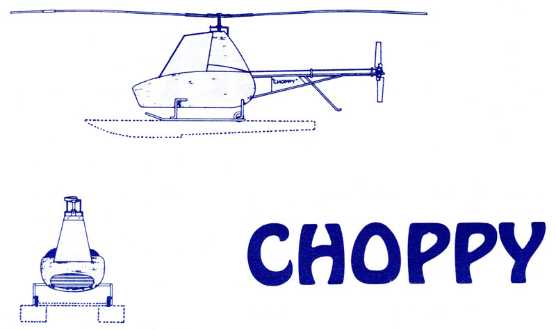 Choppy helicopter