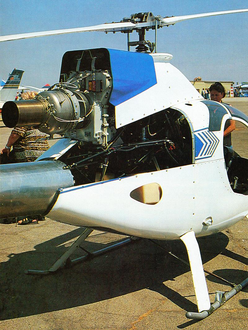 Converting Rotorway Exec Jet Engine