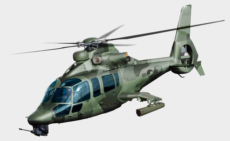 Dauphin based attack helicopter