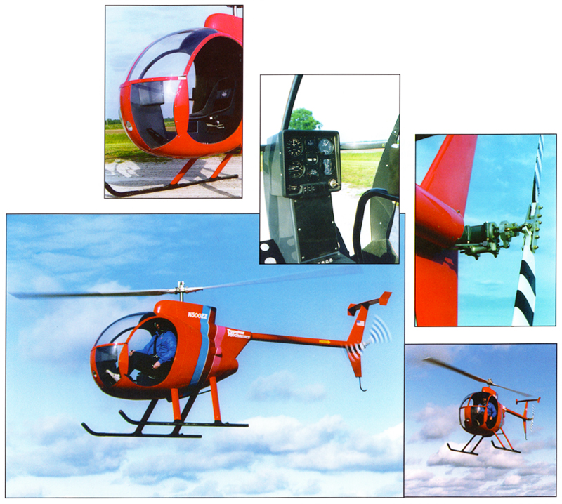 Dennis Fetters Mini 500 helicopter