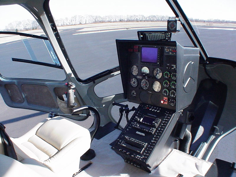 Enstrom helicopter 480 Interior Cockpit