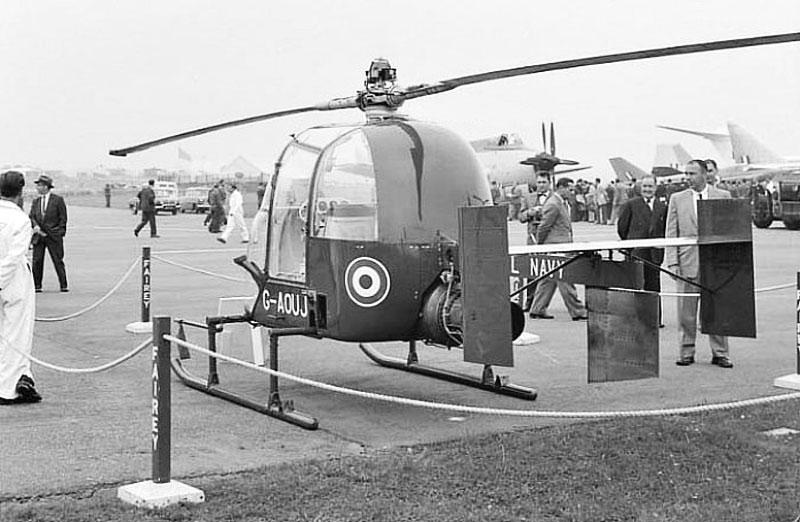 Fairey Aviation Fairey Ultra Light helicopter display Farnborough 1957