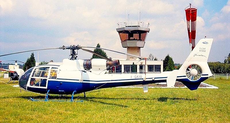 Gazelle SA-341 helicopter fenestron