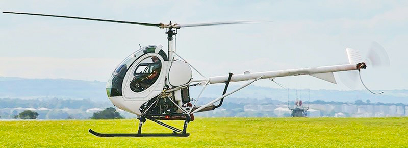 HUGHES 300C helicopter