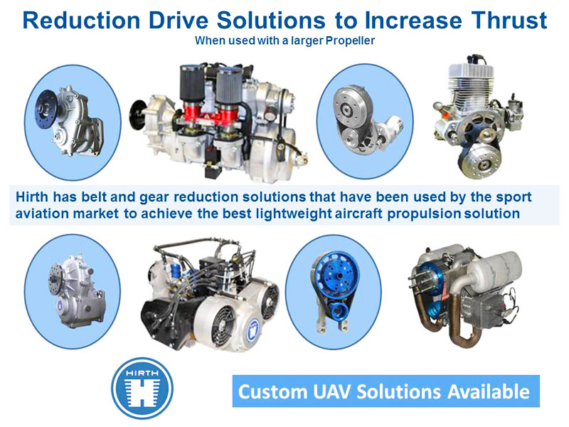 Hirth Engine Reduction Drive Solutions