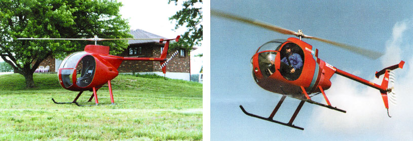 Homemade Mini 500 helicopter