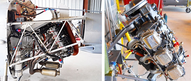 Hummingbird Helicopter engine options