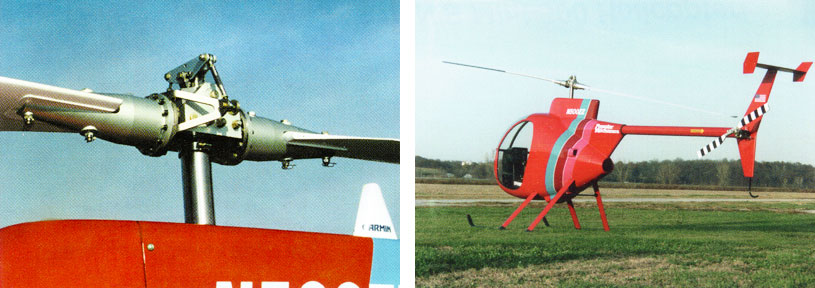 Lightweight composite kit helicopter