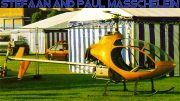 Masquito two seat Belgian helicopter