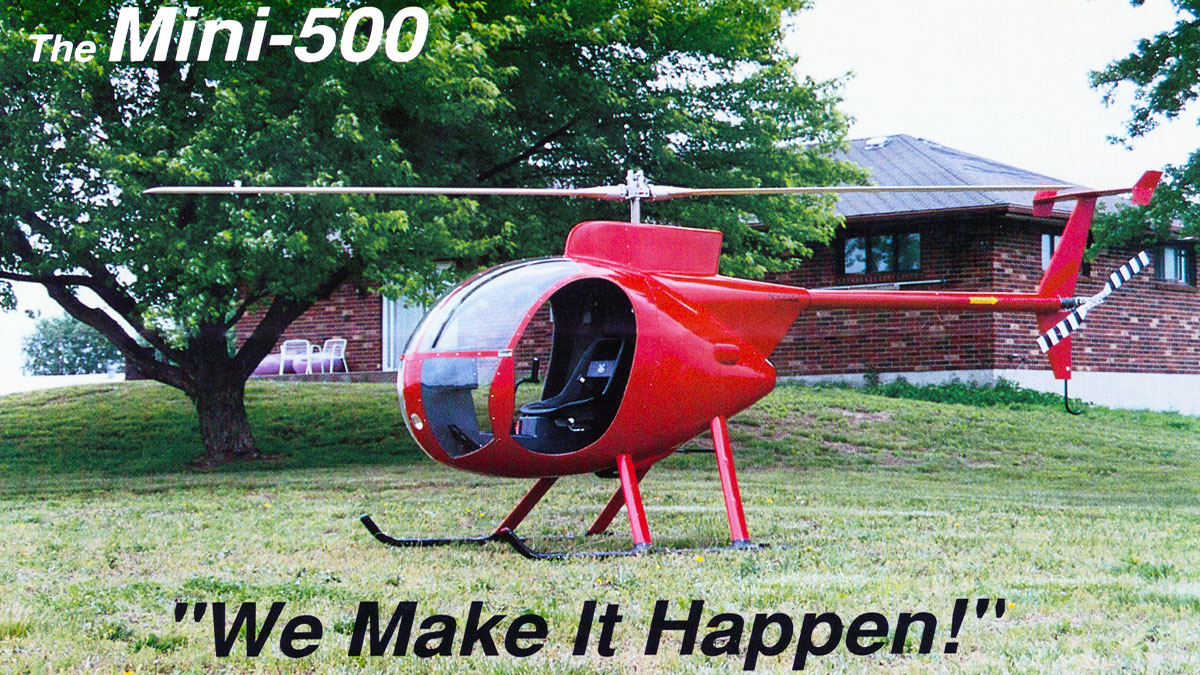 Mini 500 Helicopter - From The Presidents Desk