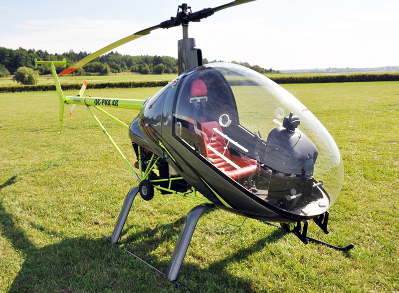 Small Helicopter - Modern CH7 Angel Helicopter
