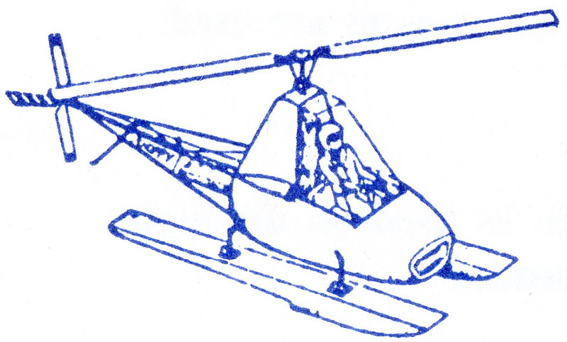 Polynova DIY helicopter