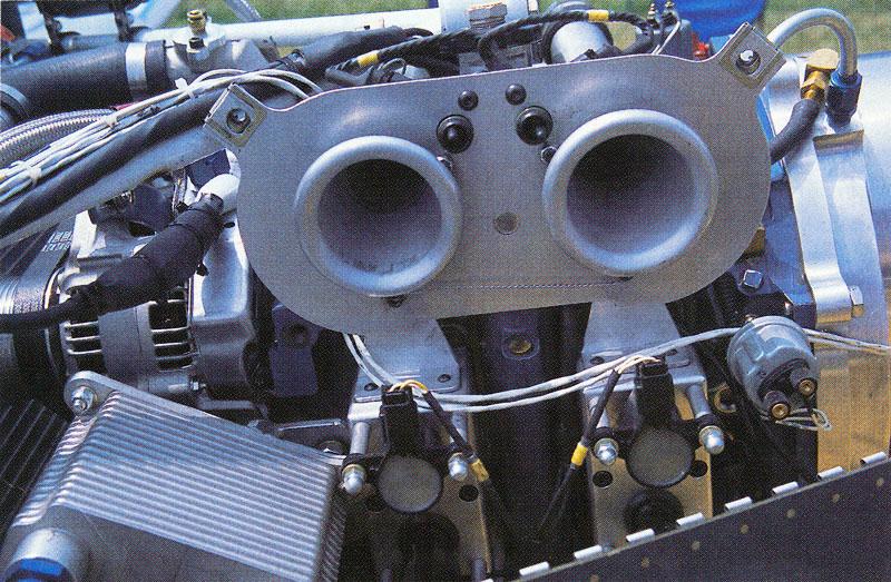 Rotary engine intake ports