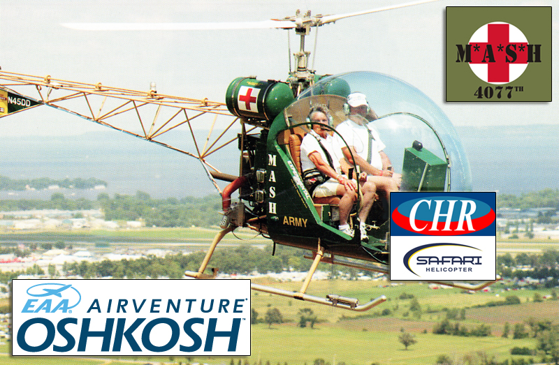 Safari MASH helicopter Oshkosh