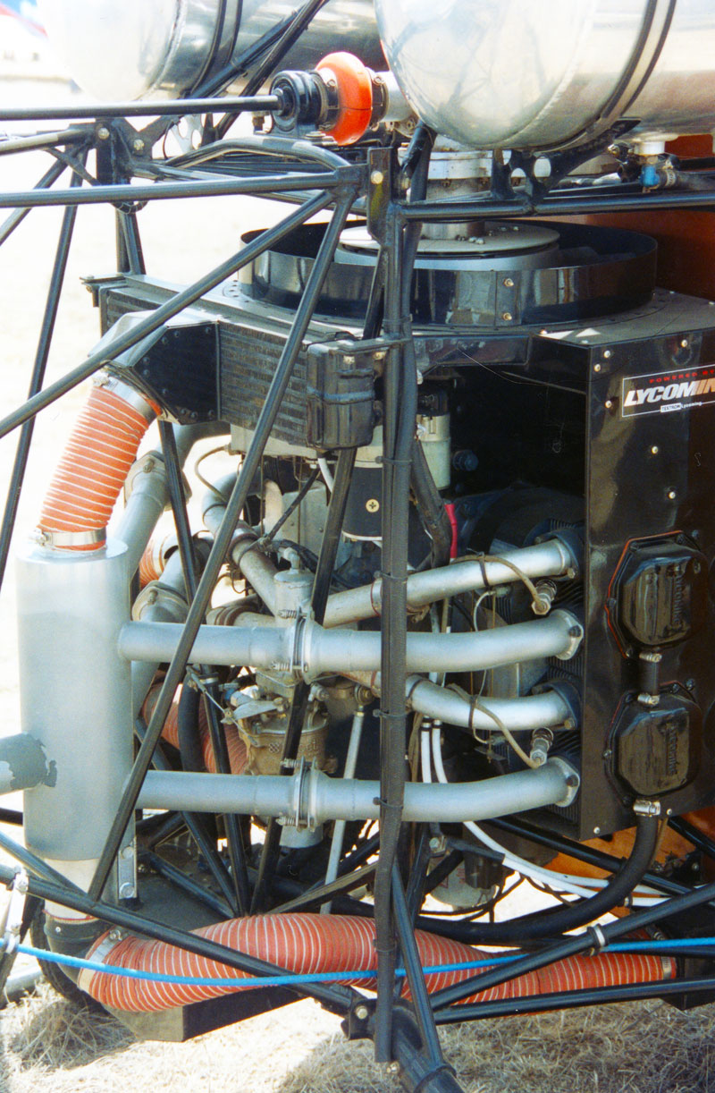 Safari helicopter Lycoming engine