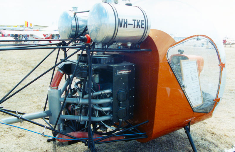 Safari helicopter engine drivetrain