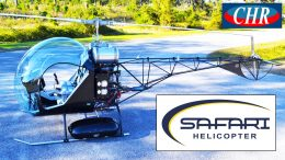 Safari helicopter history