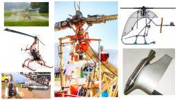 Swisscopter DF1 hydrogen peroxide rocket helicopter