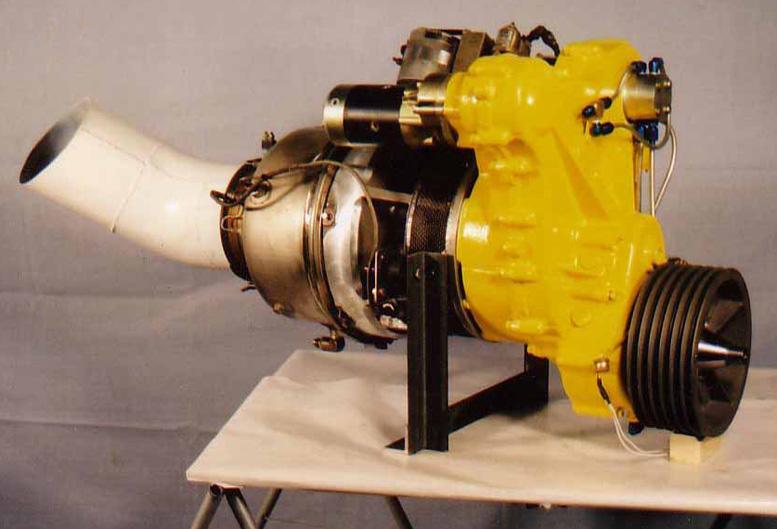 TGB12 kit helicopter turbine