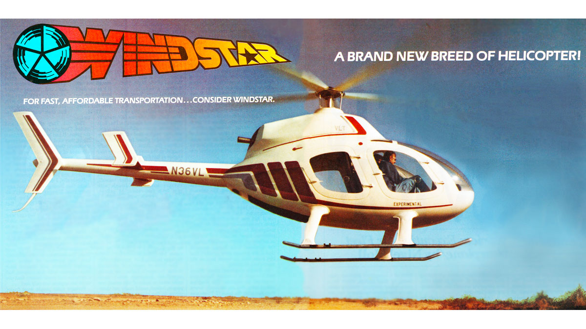 Vertical Lift Technologies WINDSTAR helicopter