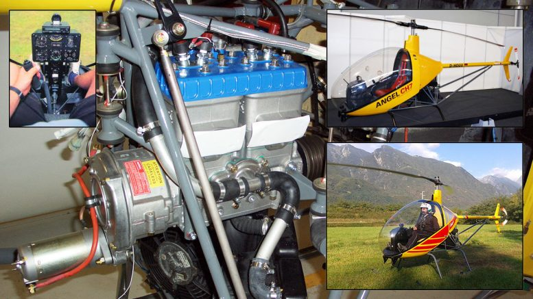 ultralight two stroke engines ch7 angel helicopter