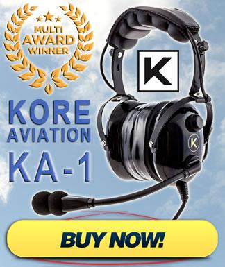 Discount Kore Aviation KA-1 Pilot Headset Sale