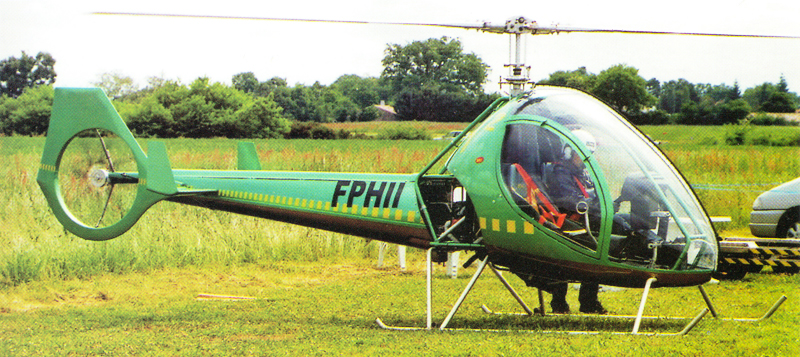 Dynali h2 two seat helicopter
