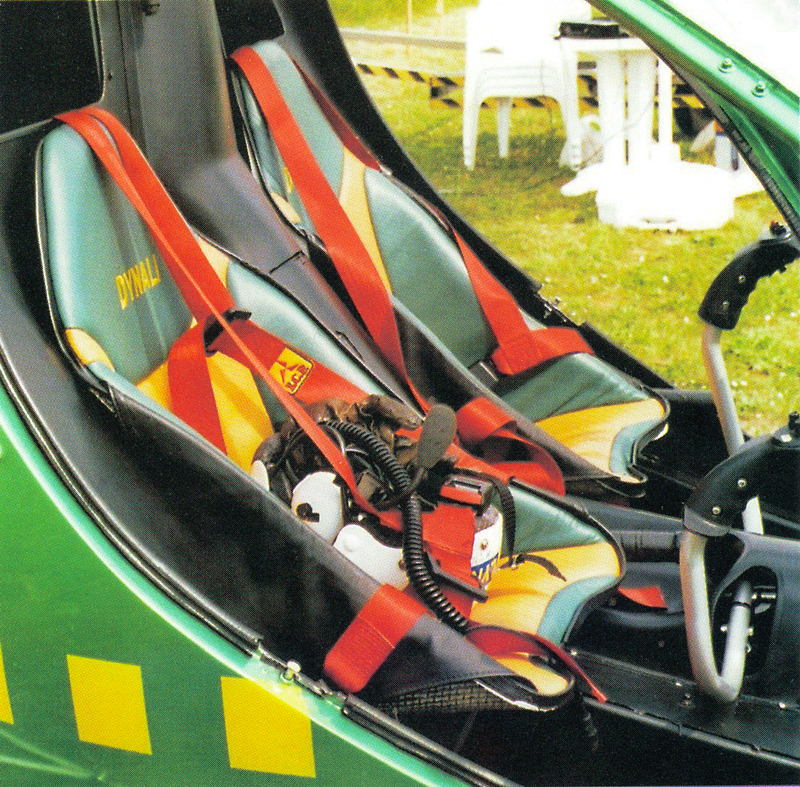 Two seat light helicopter