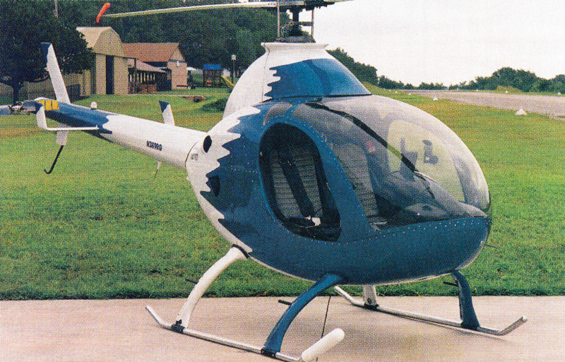 John Spurling Rotorway Exec 162 helicopter