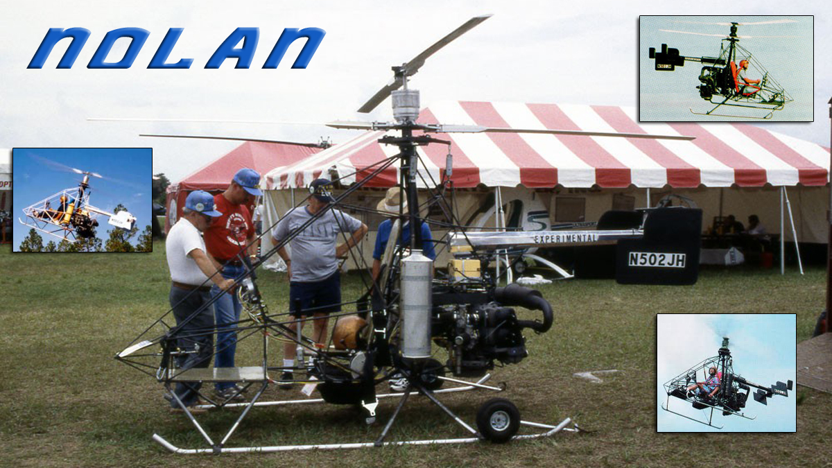 Nolan 51-HJ Coaxial Helicopter - Indiana 1995