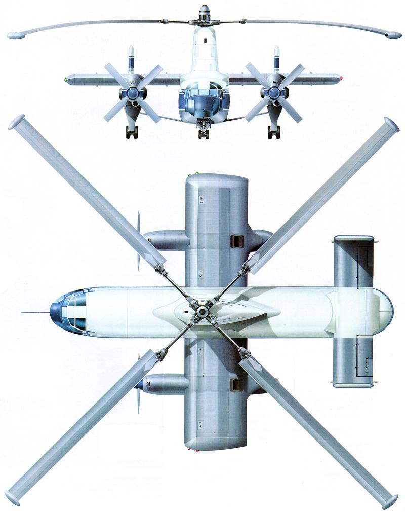 VTOL rotorcraft rotodyne