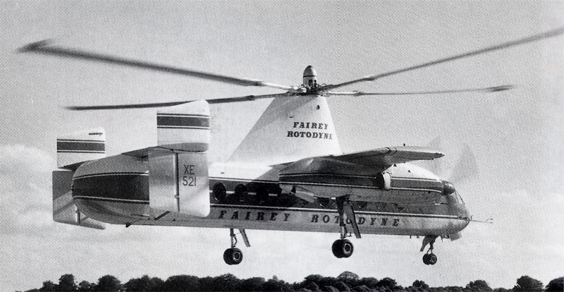 XE 521 Fairey Rotodyne